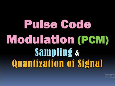 Pulse Code Modulation (PCM) (Sampling and Quantization of Signal) [HD]