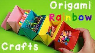 Rainbow Origami Ideas - DIY Origami - Paper Crafts