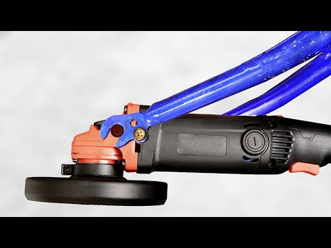 Bright Idea from the Old Bicycle and the Angle Grinder!