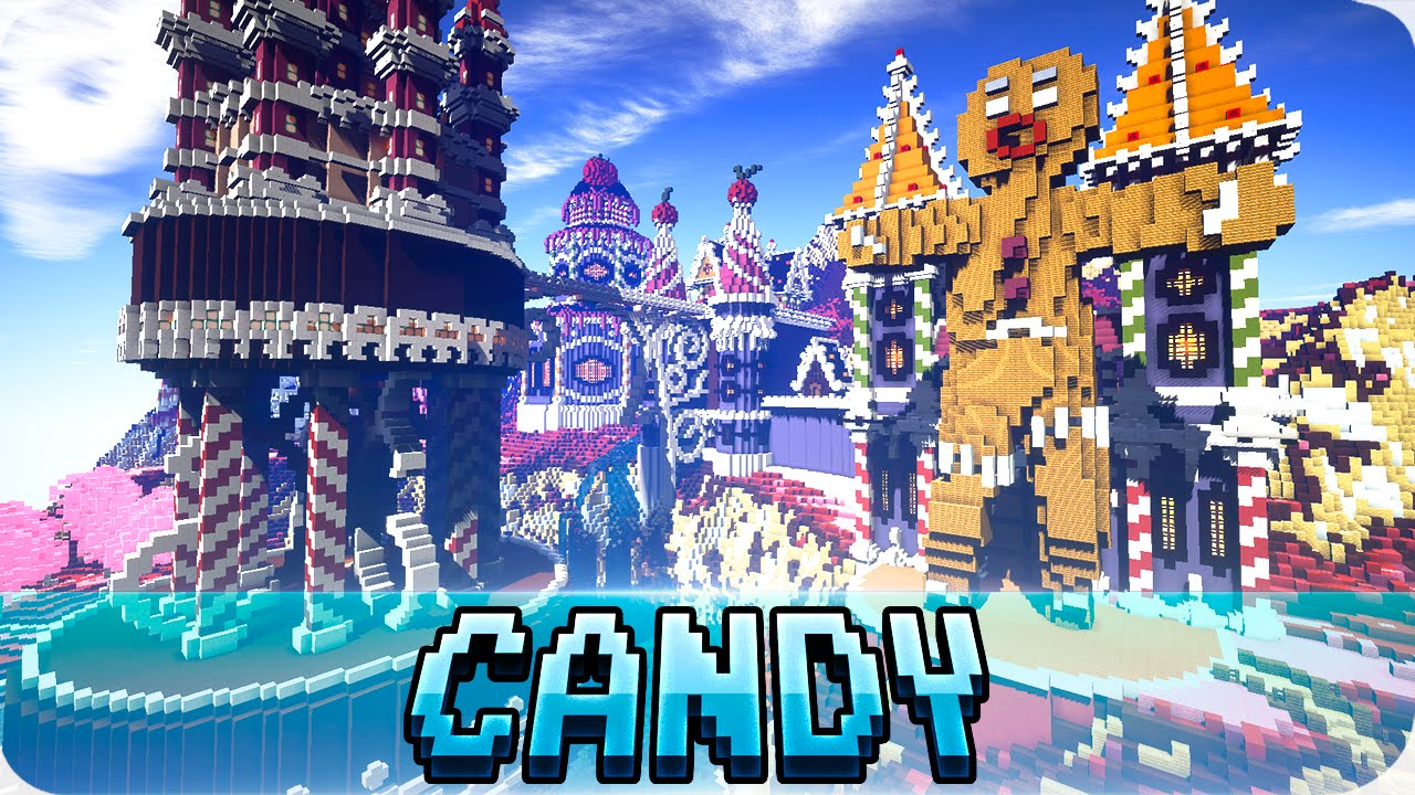 Minecraft Candy Kingdom Map Cinematic Amp Download