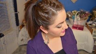 Peinado Sencillo de Colita con 3 trensas