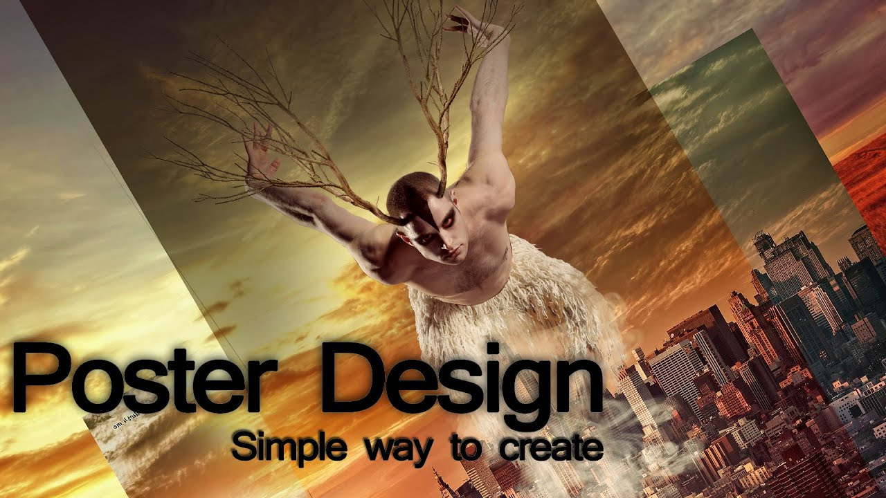 Poster design in photoshop - Poster Design Photoshop Film Poster Design Photoshop Tutorial Youtube
