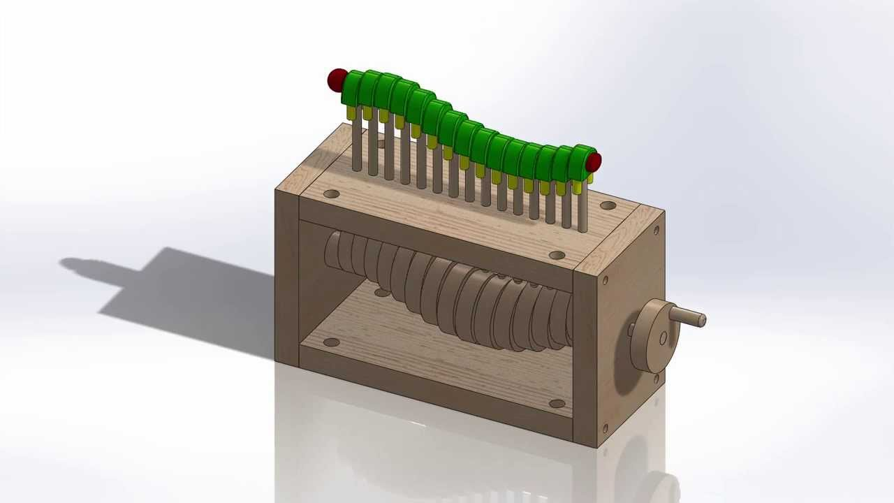 Wooden Caterpillar Toy Design Youtube