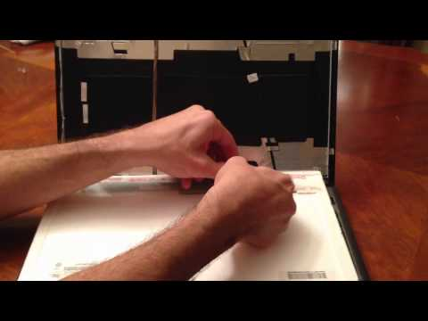 Laptop Screen Replacement / How To Replace Laptop Screen Acer Aspire 5755-6482