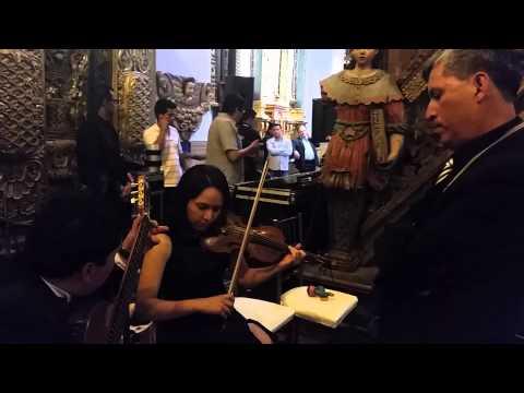 Angie Durrell 6 pruebas de sonido para tocar frente a Papa Francisco