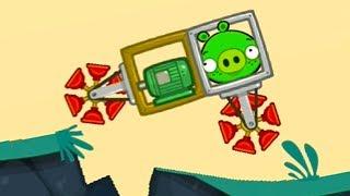 Bad Piggies #6 ЧЕЛЛЕНДЖ ИСПЫТАНИЕ в мультик игре про машинки с мультяшными героями #МК