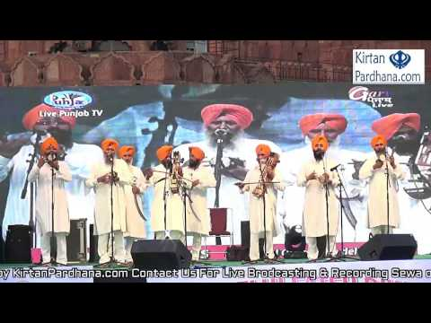 Delhi Committee Dhadhi Jatha Council - 26March2017,Lal Qila, New Delhi