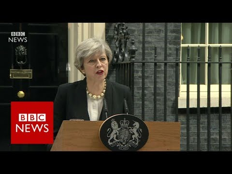 Theresa May on Manchester Arena explosion - BBC News