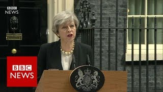 Theresa May on Manchester Arena explosion   BBC News