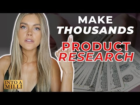 Amazon FBA Product Research 2019 Tactics to Find 10K per month products