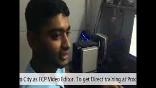 Video Editing FCP Training  in Delhi at Production House