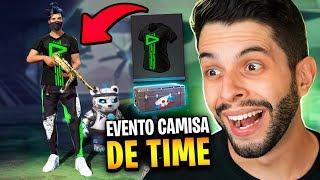 SKIN DA LOUD?! AS CAMISAS DE TIME FINALMENTE VOLTARAM!! FREE FIRE