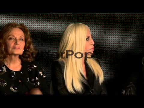 Victoria Beckham, Diane Von Furstenburg and Donatella Ver...