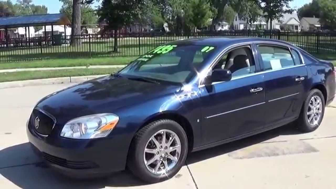 2007 Buick Lacerne Cxl Sold Youtube Escape Fuse Box