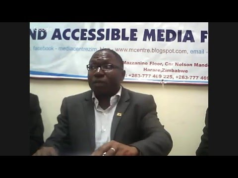 Prayer Network Zimbabwe Press Conference