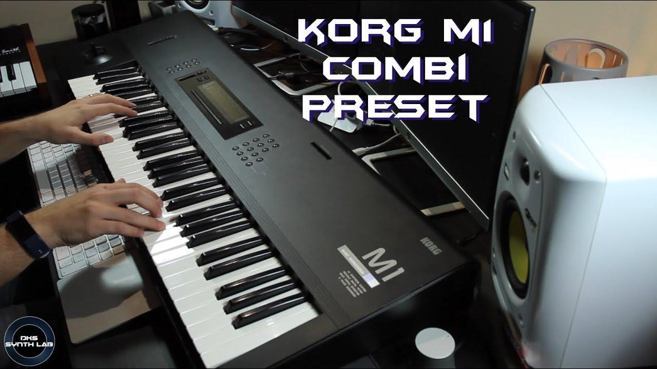 Korg M1 Combi Presets