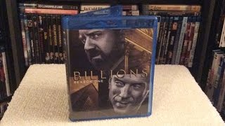 Billions: Season 1 BLU RAY UNBOXING and Review - Paul Giamatti