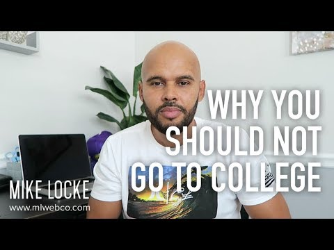 Why You Should NOT Go To College (for UI, UX, Front-End Dev & Tech)