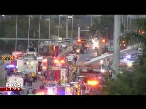 Rescue efforts continue after South Florida bridge collapsed