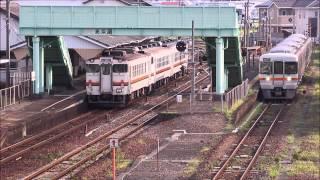 2015/08/16 3913D & 908D @ 高茶屋駅 交換風景