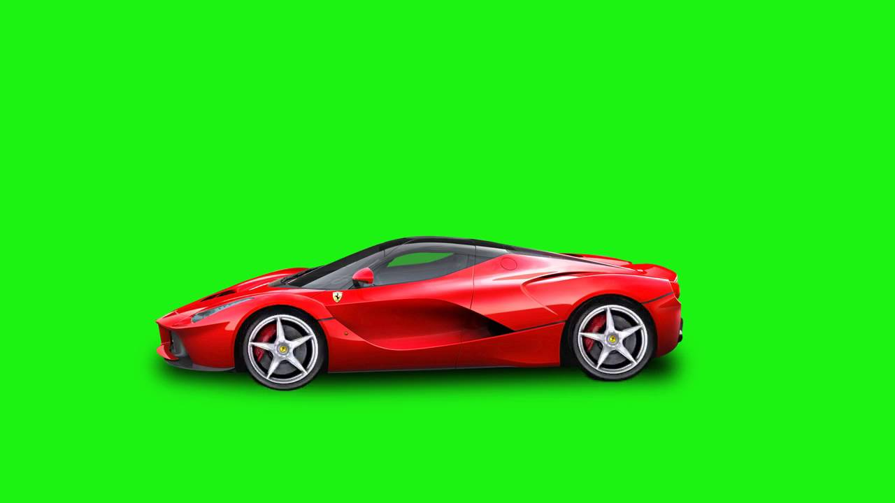 Ferrari Drive , Green Screen , YouTube