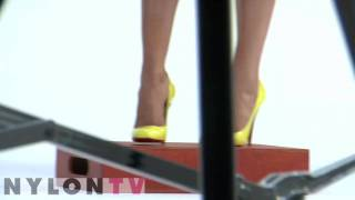 Camilla Belle on Nylon Tv Photoshoot