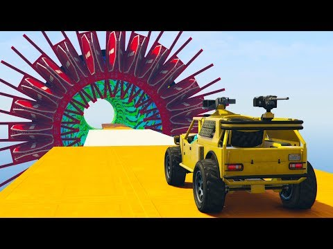 EL AGUJERO DE LA SUERTE! - CARRERA GTA V ONLINE - GTA 5 ONLINE