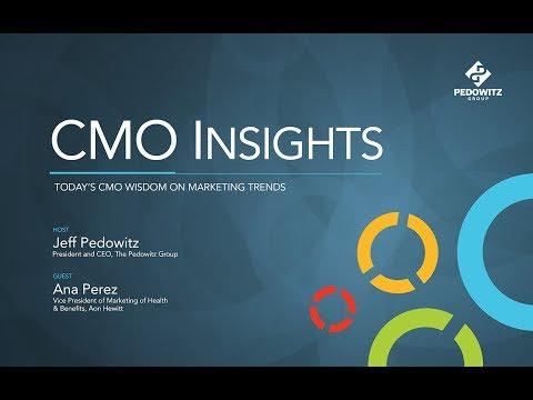CMO Insights: Ana Perez, Vice President of Marketing, Aon Hewitt