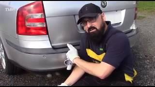 Ošetrení vnějších plastů - černění