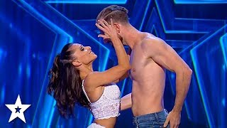 INCREDIBLE DANCE DUO on Romania's Got Talent | Got Talent Global
