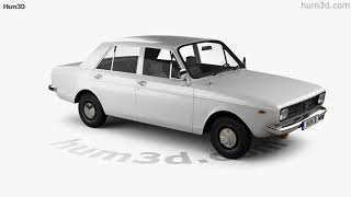 Iran Khodro Paykan 1967 3D model by Hum3D.com