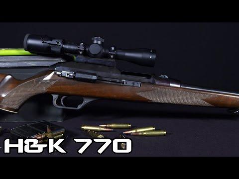H&K 770 .308 Sporting Rifle (4K)