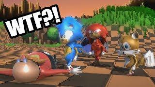 ¿Pero qué clase de SONIC es este?😐😐 | Sonic Suggests (Fan Game) thumbnail