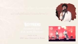 lyricsthaisubexo do ft chanyeol boyfriend full audio acoustic ver