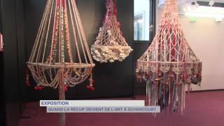Exposition : quand la récupération devient de l'Art à Guyancourt