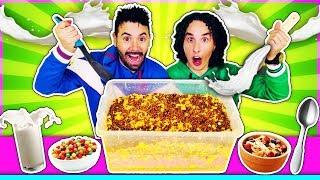 Mezclamos todos los Cereales del super mercado 🥣
