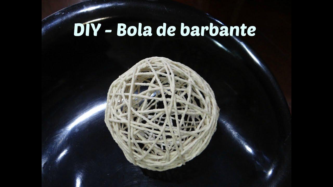 DIY ou Faça você mesmo - Bola de barbante - YouTube