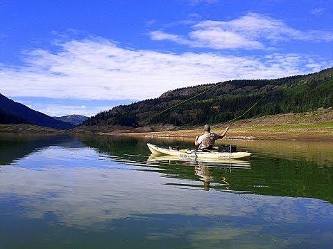 Platoro Reservoir, CO - Catching Rainbows and Salmon from Kayaks