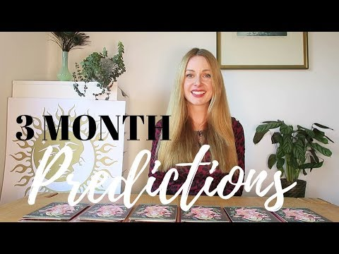 3 Month Predictions | What is happening in the next 3 months? | PICK A CARD Tarot Reading (Timeless)