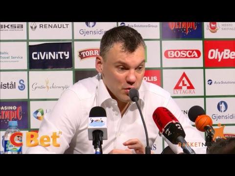"""Trenerių ir žaidėjų komentarai po Kauno """"Žalgirio"""" ir Vilniaus """"Lietuvos ryto"""" rungtynių"""