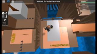 Let's play Roblox: Paper Roblox 2 part 1- Random giant weight