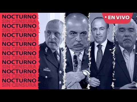 EN VIVO arresto de #Cienfuegos, #ElPadrino, logro #4T. #RicardoAleman defiende a #Calderon.