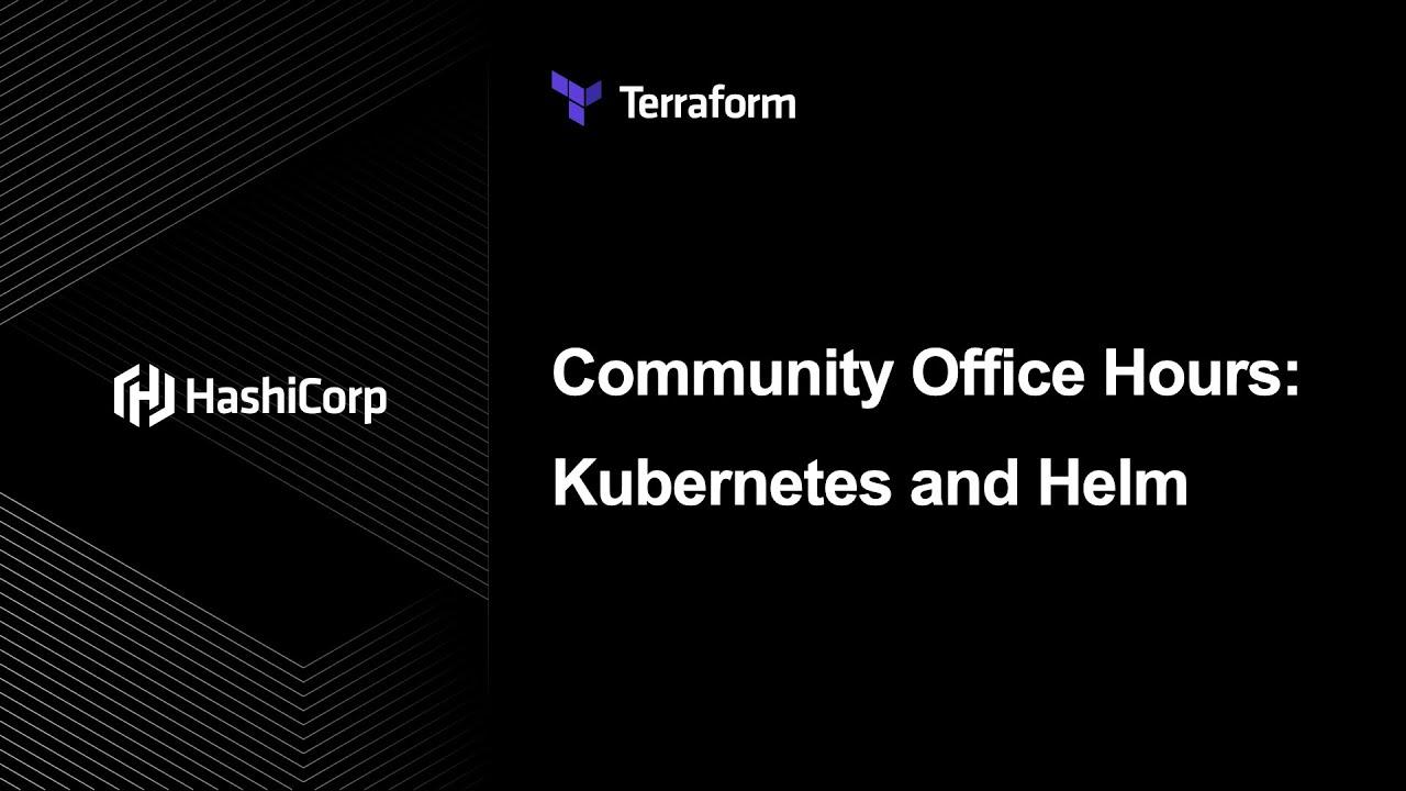 Terraform Kubernetes & Helm Provider