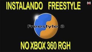 COMO INSTALAR UMA FREESTYLE NO XBOX 360 RGH -  USB