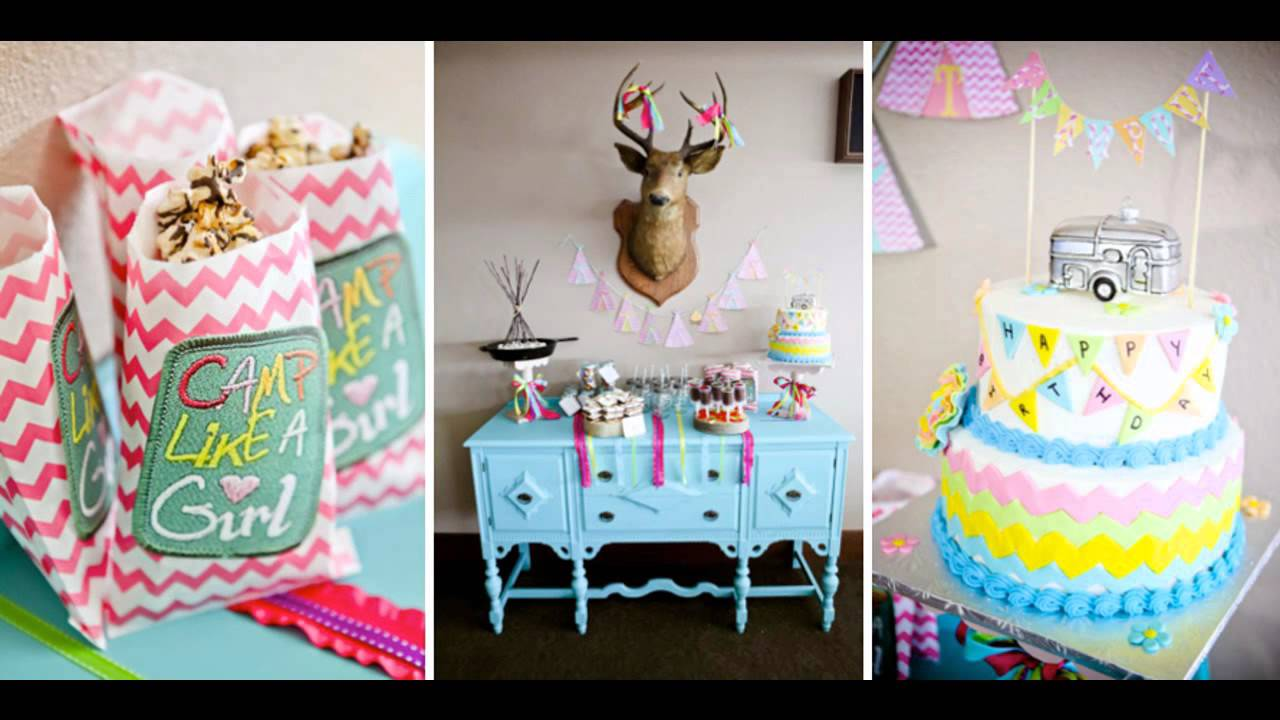 Cool Teenage birthday party themes decorating ideas - YouTube