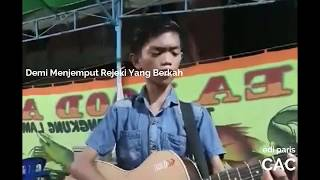 Anji - Menunggu Kamu (Cover) By Reihan Pengamen Samarinda