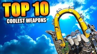 """Top 10 """"COOLEST WEAPONS"""" in COD HISTORY 