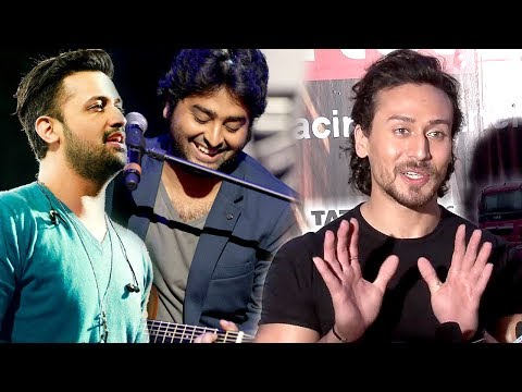 Tiger Shroff SHOCKING Reaction On Atif Aslam & Arijit Singh?