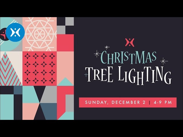 Christmas Tree Lighting at Harvest: Celebrate The Coming King