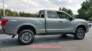 NEW 2017 NISSAN TITAN XD 4X4 DIESEL KING CAB PRO-4X at Reidsville Nissan New #N0177